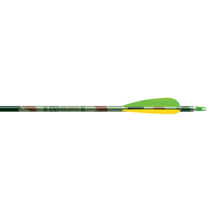 Easton Camo Hunter XX75 Arrows 2216 4 in. Vanes 6 pk.