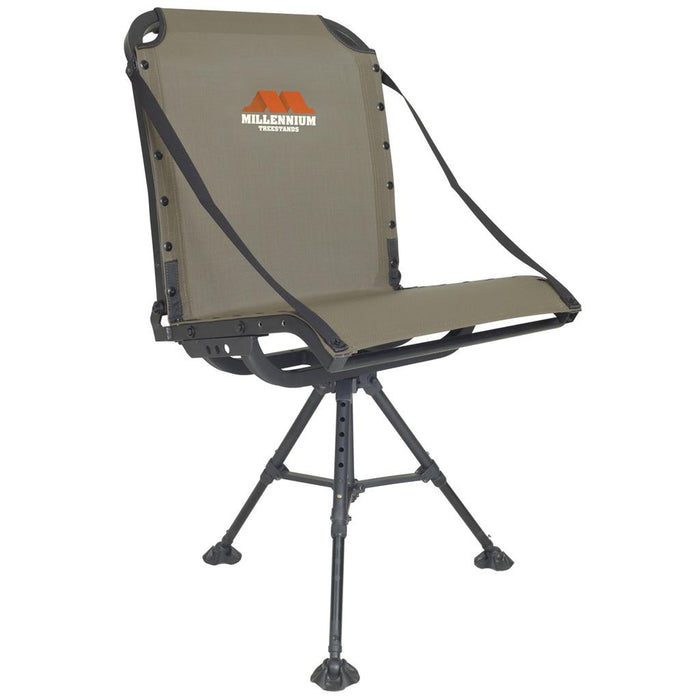 Millennium G100 Blind Chair Aluminum