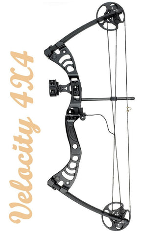 Velocity Race 4x4 Youth Bow Package Black RH | Youth Compound Bow