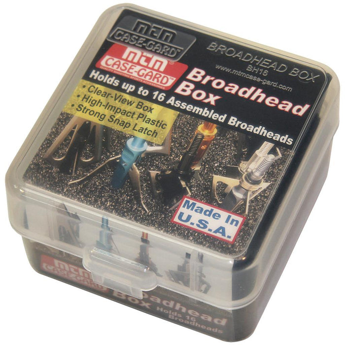MTM Broadhead Box Clear