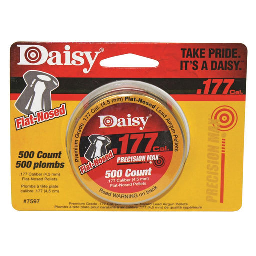 Daisy .177 Cal. Flat Pellets 500 ct. Tin