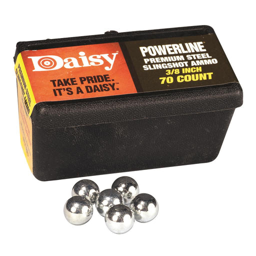 Daisy Slingshot Ammo Steel 3/8in. 75 ct.