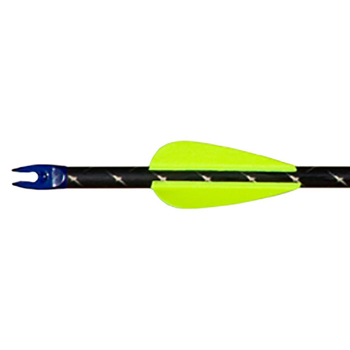 AAE Elite Plastifletch Vanes Yellow 1.75 in. 100 pk.