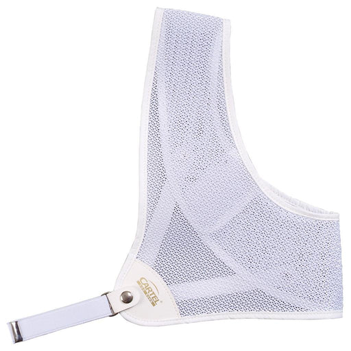 Cartel Chest Guard 101 White Small