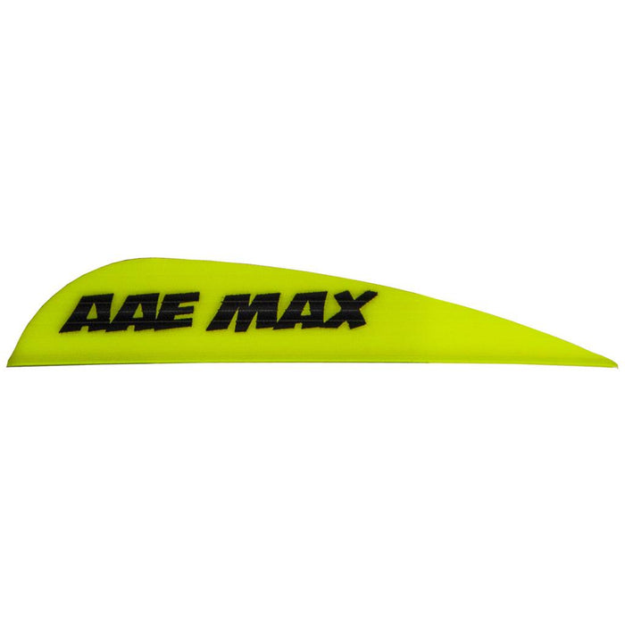 AAE Max Stealth Vanes Yellow 2.7 in. 100 pk.