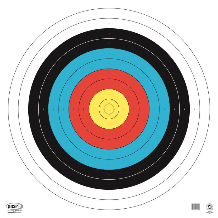 Maple Leaf NASP Target 80 cm. 25 pk. Tag Weight