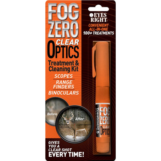 Fog Free Optics Treatment and Cleaning Kit Pen