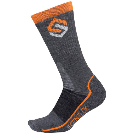 ScentLok Merino Hiking Sock Charcoal Medium