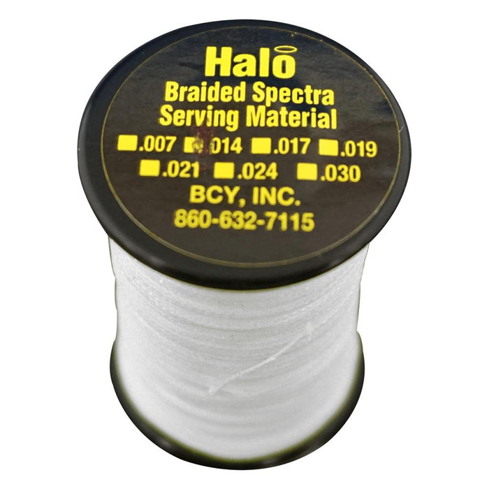 BCY Halo Serving White .014 120 yds.