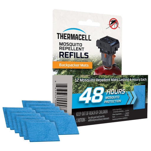 ThermaCell Repeller Mat Only Refill 48 Hr.