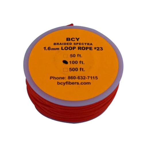 BCY 23 D-Loop Material Neon Orange 100 ft.