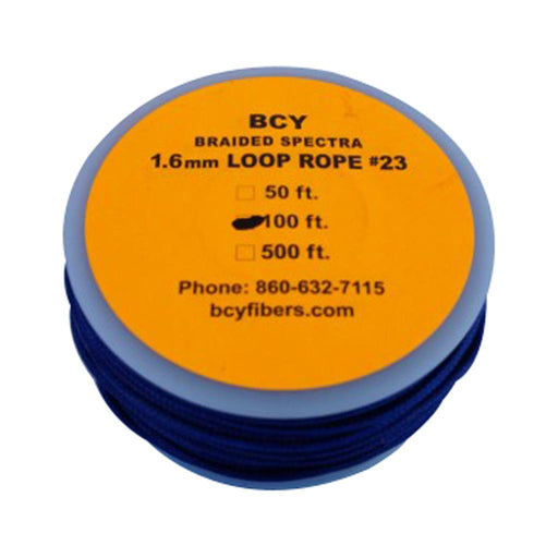 BCY 23 D-Loop Material Blue 100 ft.