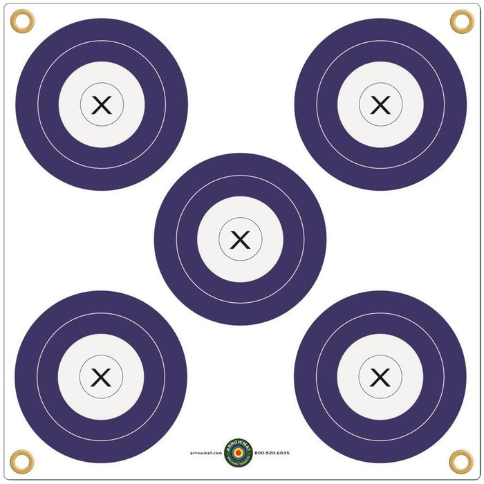 Arrowmat Foam Target Face Multi 5 Spot 34 in. x 34 in.