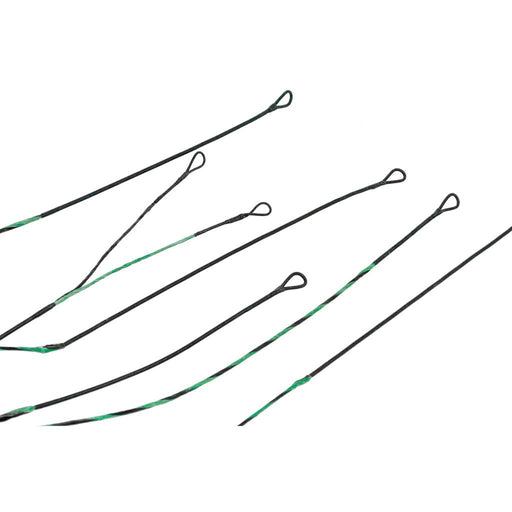 ABB Premium String Set Green/Black Traxx