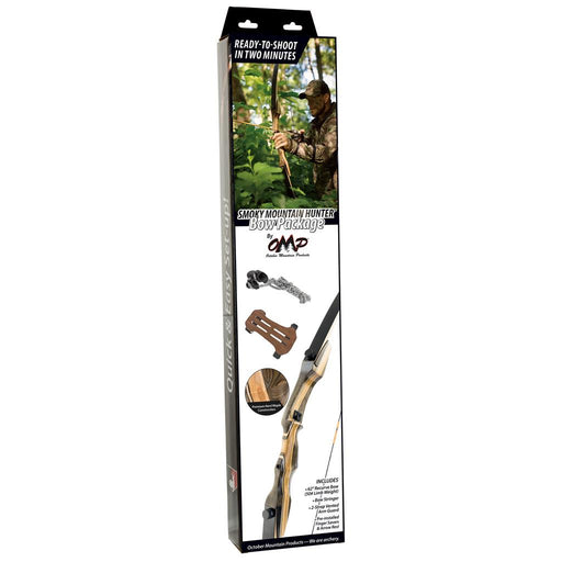 October Mountain Smoky Mountain Hunter Bow Package 62 in. 45 lbs. RH