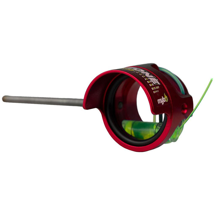 Mybo Ten Zone Scope Cherry Red 0.50 Diopter Green Fiber