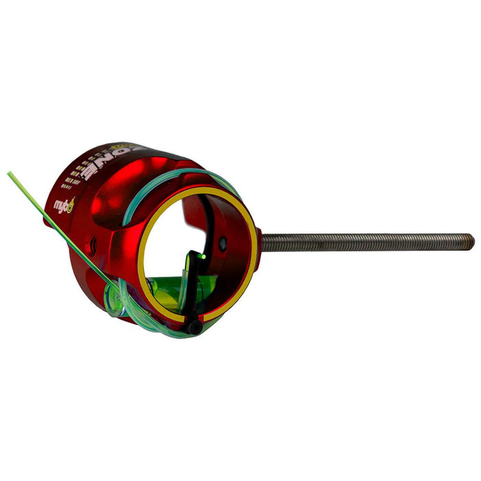 Mybo Ten Zone Scope Cherry Red 0.75 Diopter Green Fiber