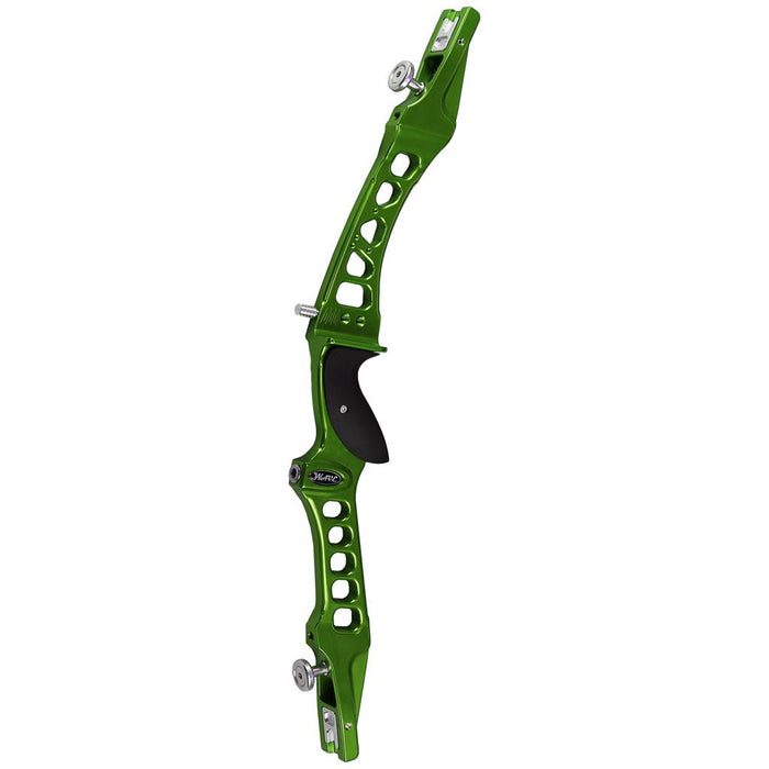 Mybo Wave Recurve Riser Lizard Green 25 in. RH