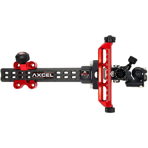 Axcel Achieve Compound X Sight Red/ Black 6 in. RH