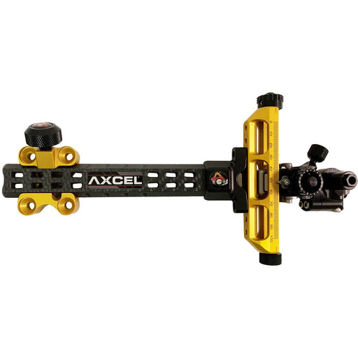 Axcel Achieve Compound X Sight Gold/ Black 6 in. RH