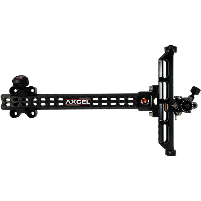 Axcel Achieve Recurve XL Sight Black 9 in. RH