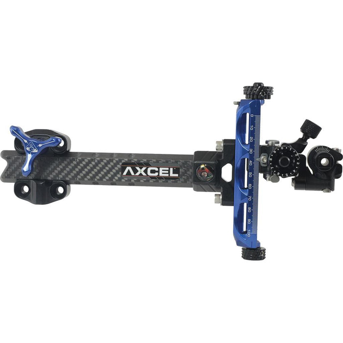 Axcel Achieve XP Compound Sight Blue/ Black 6 in. RH