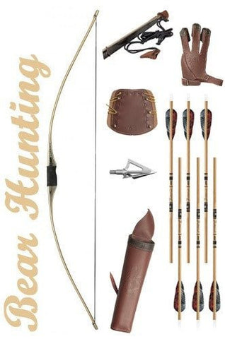Bear Hunting Longbow Package