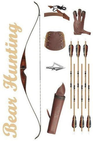 Bear Hunting Recurve Bow Package