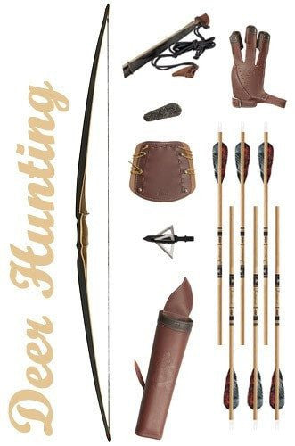 Deer Hunting Longbow Package