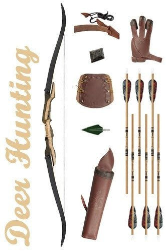 Deer Hunting Recurve Bow Package