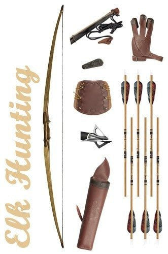 Elk Hunting Longbow Package