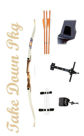 Take Down Archery Youth Kit October Mountain Adventure 2.0 (complete package)