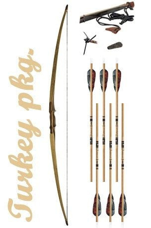 Turkey Hunting Longbow Package