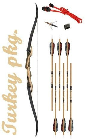 Turkey Hunting Recurve Bow Package