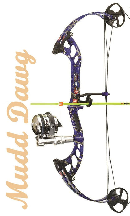 PSE Mudd Dawg AMS Package Up To 30 in. 40 lbs. RH - Bowfishing Compound Bow Package