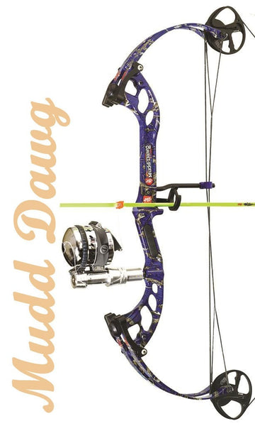 PSE Mudd Dawg AMS Package Up To 30 in. 40 lbs. RH | Bowfishing Compound Bow Package