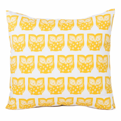 Woodland Owls Pillow Cover - The Bold Collection
