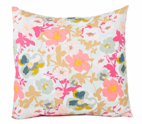 Heartland Floral Cotton Pillow Cover - The Bold Collection