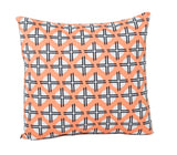 Orange Sundot Pillow Cover - The Bold Collection