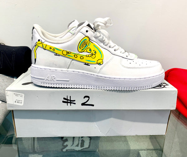 Hand Painted AF1 Low size: 9.5