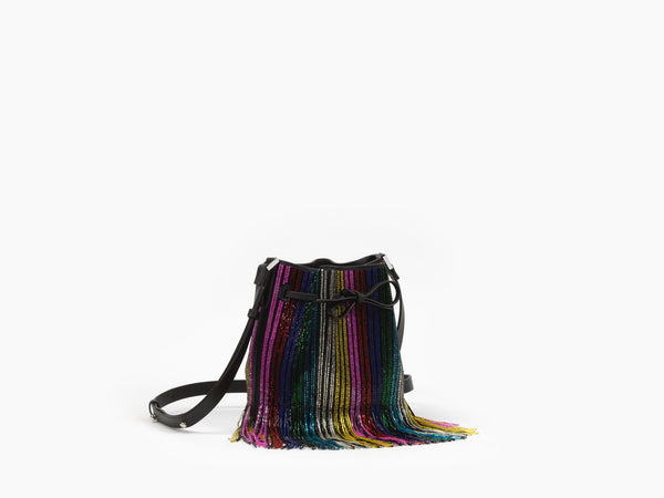 ☆ MINI DALIAH BUCKET RAINBOW FRINGE