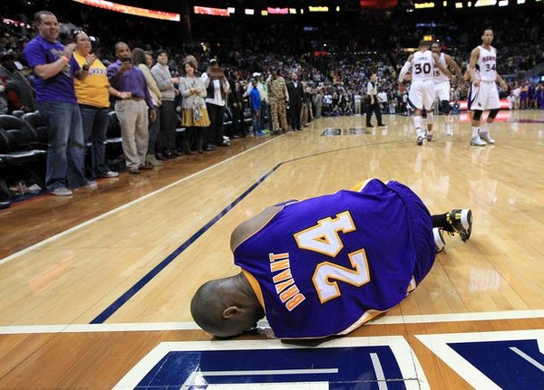 Kobe Bryant's Powerful Message On Facing A Heartbreaking Injury