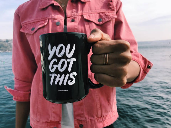 Rachael Adams you got this JOURNEYSTRENGTH mug