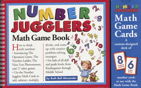 Number Jugglers: Math Game Book & Math Game Cards