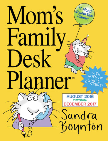 Mom's Family Desk Planner 2017