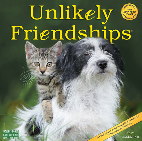Unlikely Friendships Wall Calendar 2017