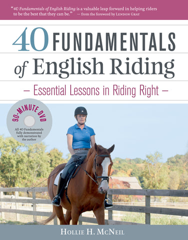 40 Fundamentals of English Riding