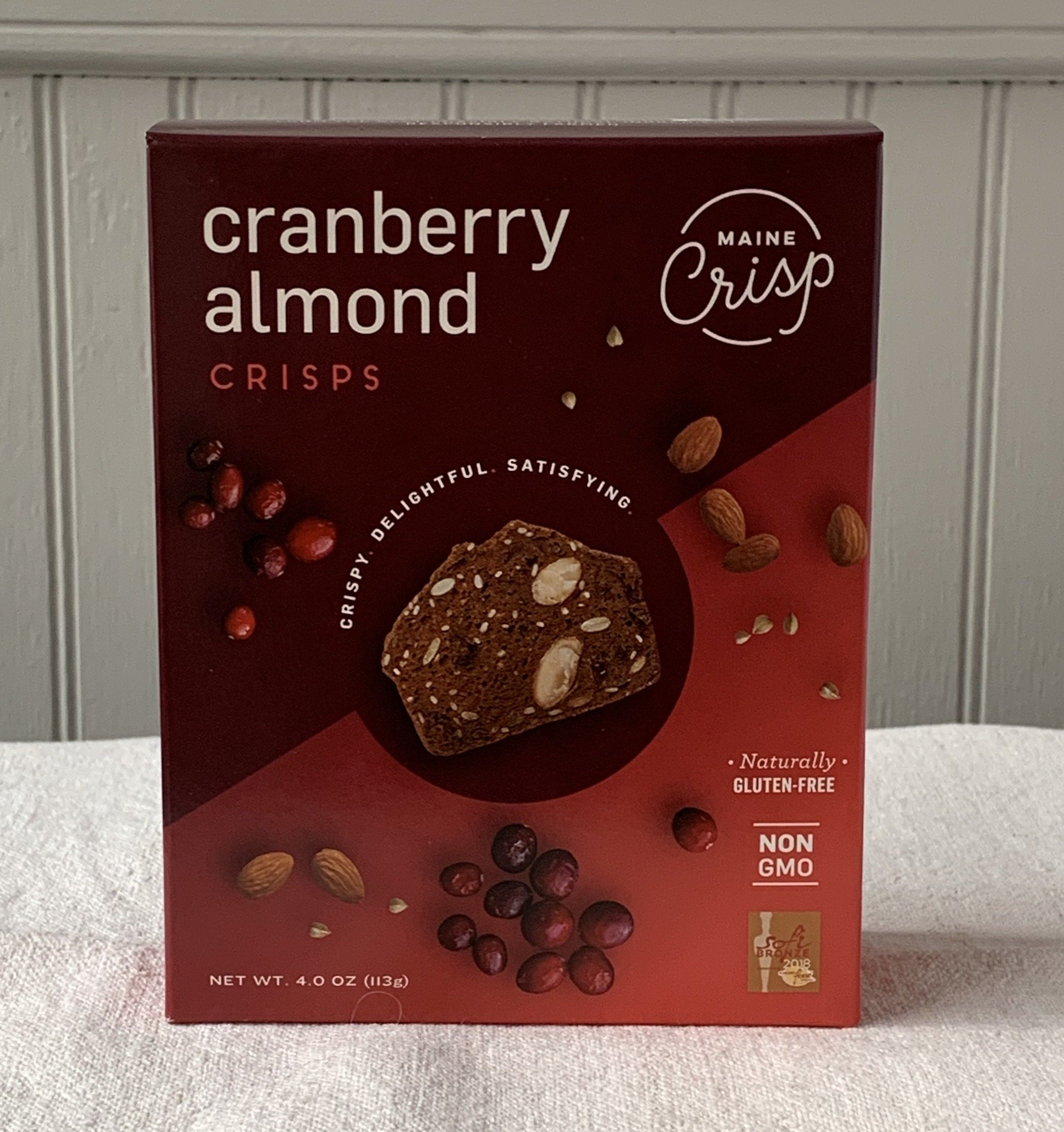 Cranberry Almond Crips