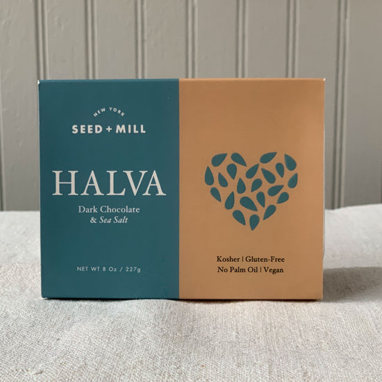 Halva, Dark Chocolate Sea Salt