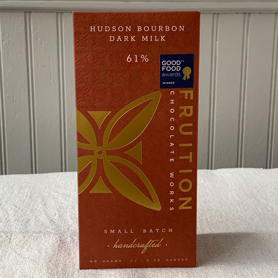 Hudson Bourbon Dark Milk 61%